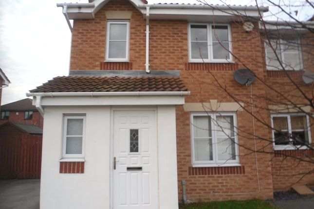 Thumbnail End terrace house to rent in Rother Mews, South Elmsall