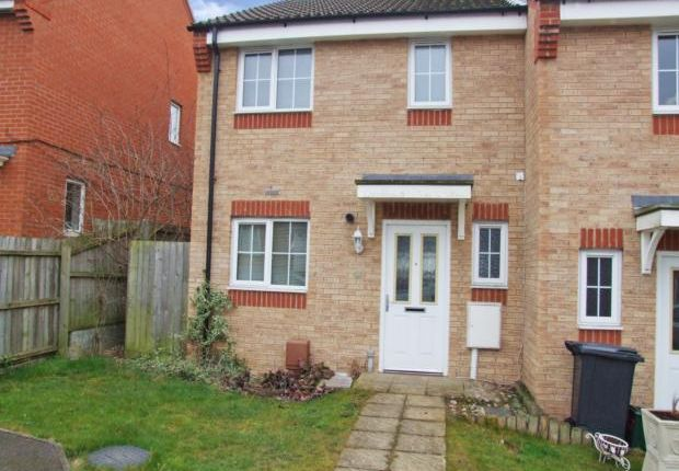 Thumbnail End terrace house to rent in Maye Dicks Road, Rushden