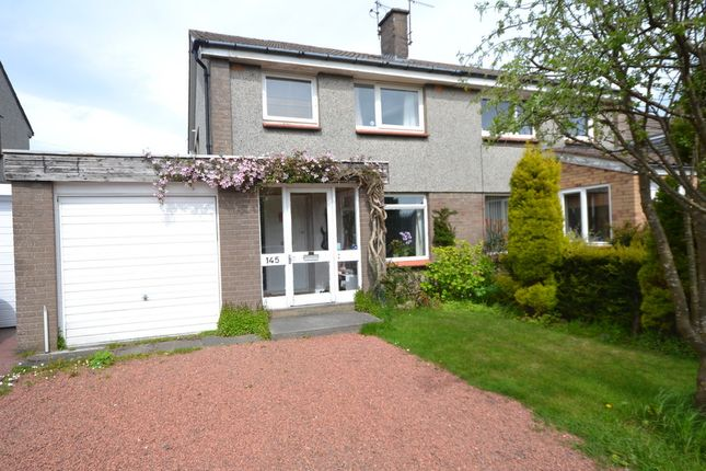 Thumbnail Semi-detached house to rent in Rullion Road, Penicuik, Midlothian