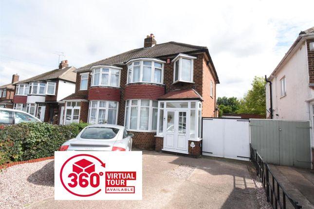 Thumbnail Semi-detached house for sale in Cranmore Road, Castle Bromwich, Birmingham