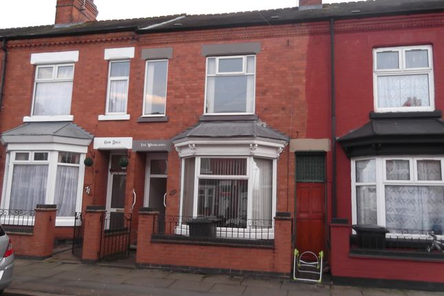 Thumbnail Terraced house to rent in Lancashire Street, Leicester