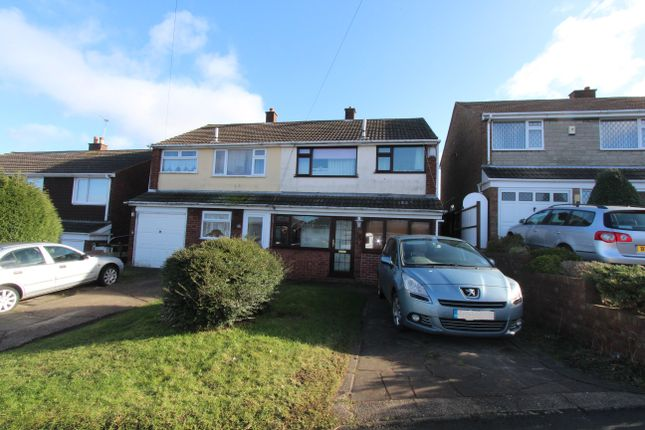 Thumbnail Semi-detached house to rent in Bardon View Road, Dordon, Tamworth