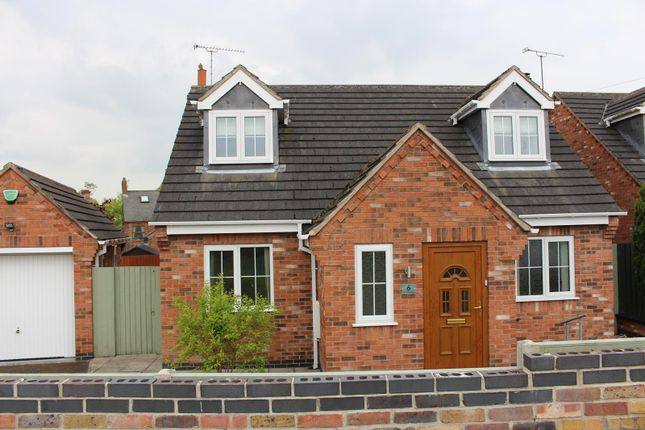 Thumbnail Detached house for sale in Donisthorpe, Derbyshire