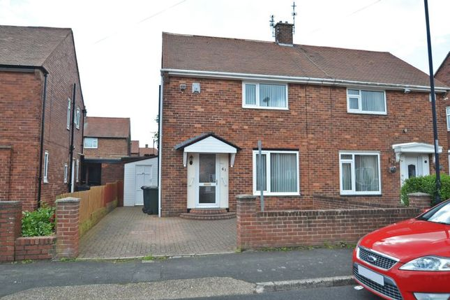 Semi-detached house for sale in Netherton Avenue, North Shields