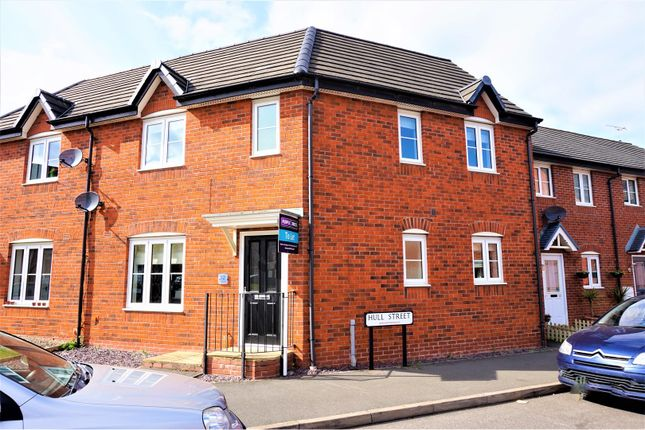 Thumbnail Semi-detached house to rent in Hull Street, Hilton, Derby