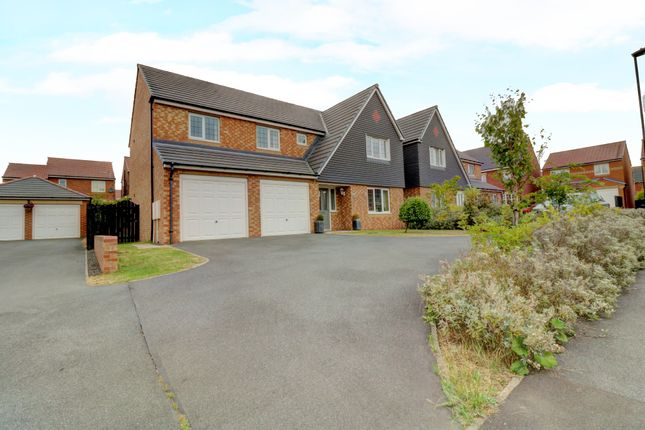 Thumbnail Detached house for sale in Cawfields Close, Wallsend