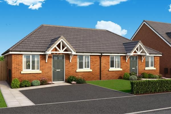 "Thumbnail Bungalow for sale in ""The Malvern At Lyndon Park "" at Harwood Lane, Great Harwood, Blackburn"