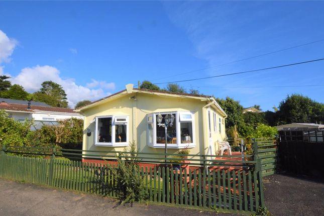 Thumbnail Detached bungalow for sale in Two Chimneys Caravan Park, Praa Sands, Penzance, Cornwall