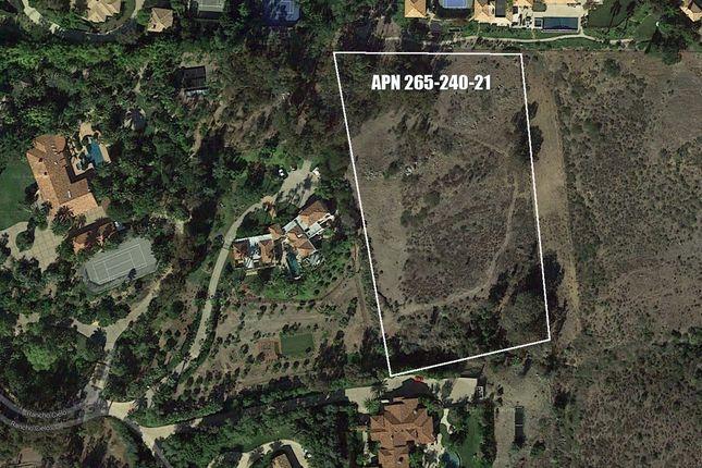Land for sale in Rancho Cielo 21, Rancho Santa Fe, Ca, 92067