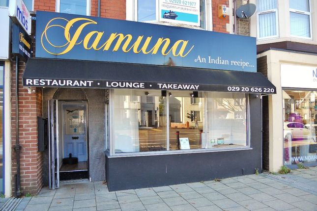 Thumbnail Restaurant/cafe to let in Jamuna, Caerphilly Road, Cardiff