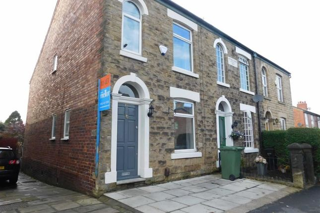 Thumbnail End terrace house to rent in Compstall Road, Marple Bridge, Stockport