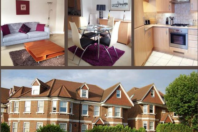 Thumbnail Flat to rent in , Park Rise, Leatherhead, Surrey