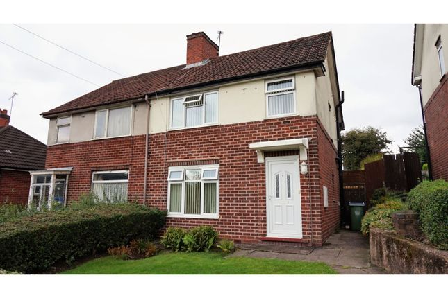 Thumbnail Semi-detached house for sale in Trinder Road, Bearwood, Smethwick
