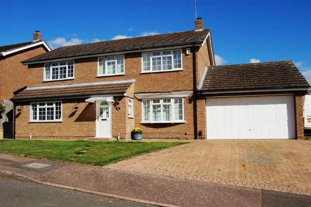 Thumbnail Detached house for sale in Shepperton Close, Great Billing, Northampton