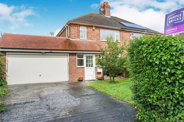 Thumbnail Semi-detached house for sale in Mill Lane, Crewe