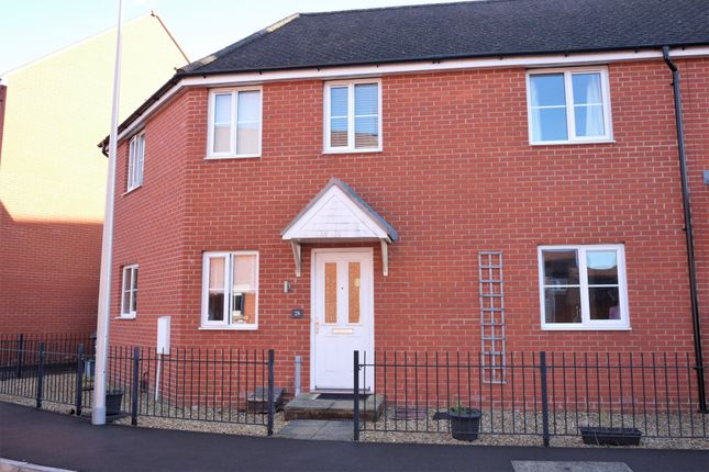 Thumbnail Semi-detached house to rent in Thompson Way, West Wick, Weston-Super-Mare
