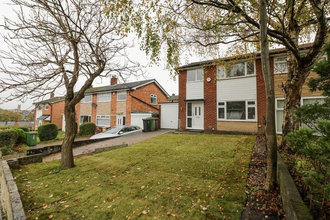 Thumbnail Semi-detached house to rent in Tonge Fold Road, Bolton