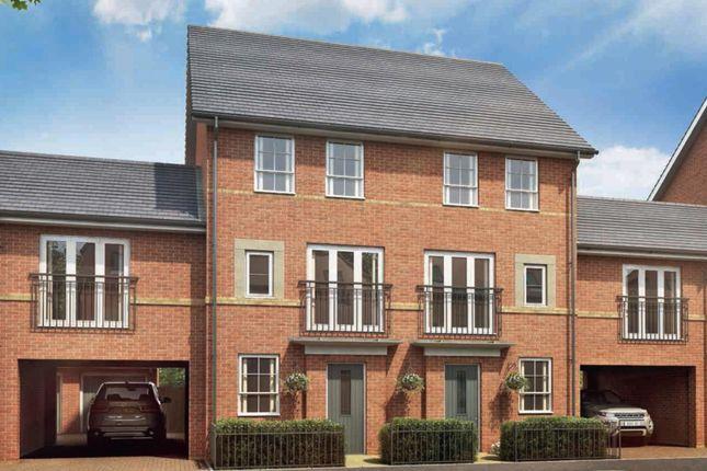 "Thumbnail Terraced house for sale in ""Faversham Link"" at Carters Lane, Kiln Farm, Milton Keynes"