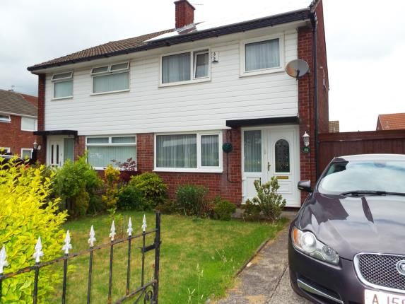 Thumbnail Semi-detached house for sale in Four Acre Lane, Clock Face, St. Helens, Merseyside