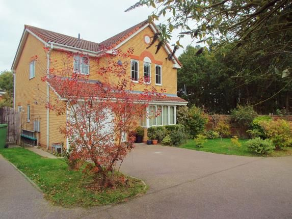 Thumbnail Detached house for sale in Dussindale, Norwich, Norfolk