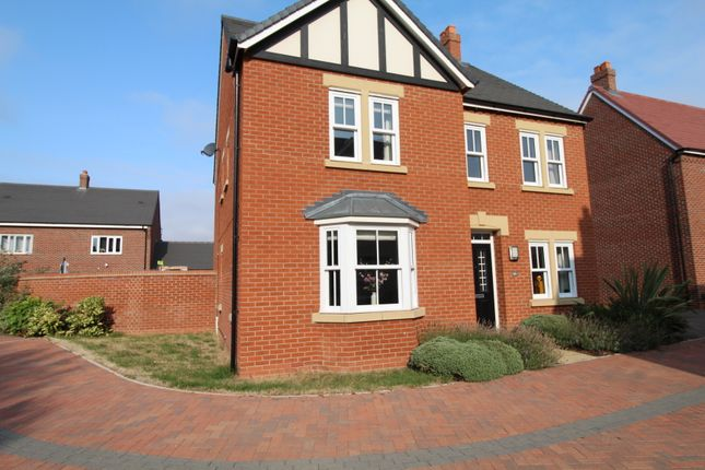 Thumbnail Detached house for sale in Clover Way, Kempston, Bedford