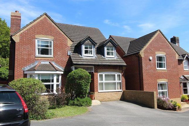Thumbnail Detached house for sale in Dan Y Graig Heights, Talbot Green, Pontyclun, Rhondda, Cynon, Taff.