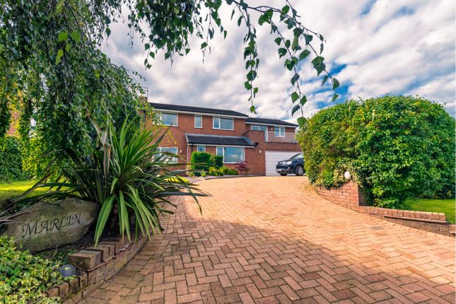 Thumbnail Detached house for sale in The Drumble, Moreton Say, Market Drayton
