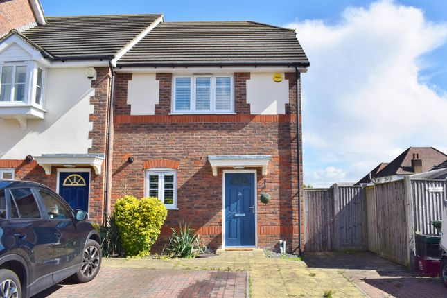 Thumbnail End terrace house for sale in Overcourt Close, Sidcup, Kent