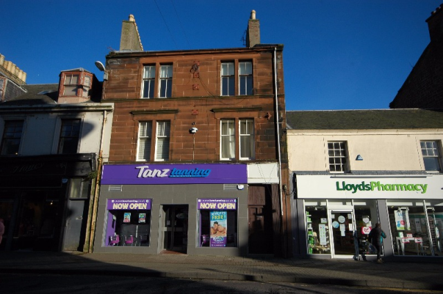Thumbnail Flat to rent in Alloway Street, Ayr, South Ayrshire, 1Sp