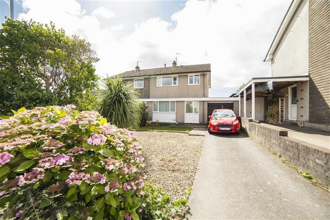 Thumbnail Semi-detached house for sale in St Kingsmark Avenue, Chepstow, Monmouthshire