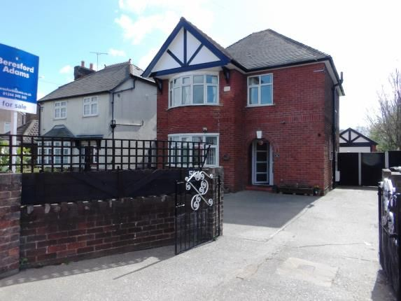 Thumbnail Detached house for sale in Welsh Road, Garden City, Deeside, Flintshire