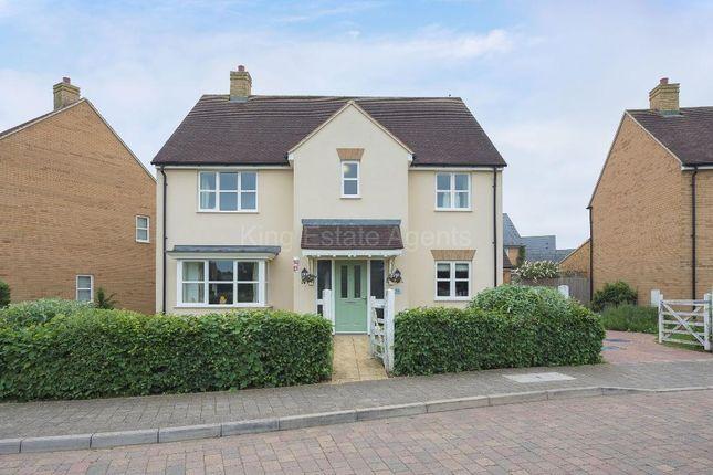 Thumbnail Detached house for sale in Trafalgar Drive, Brooklands, Milton Keynes, Buckinghamshire