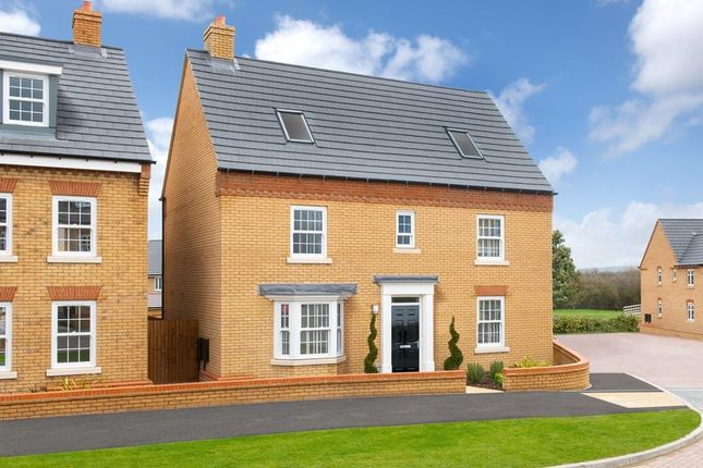 "Thumbnail Detached house for sale in ""Moorecroft"" at Southern Cross, Wixams, Bedford"