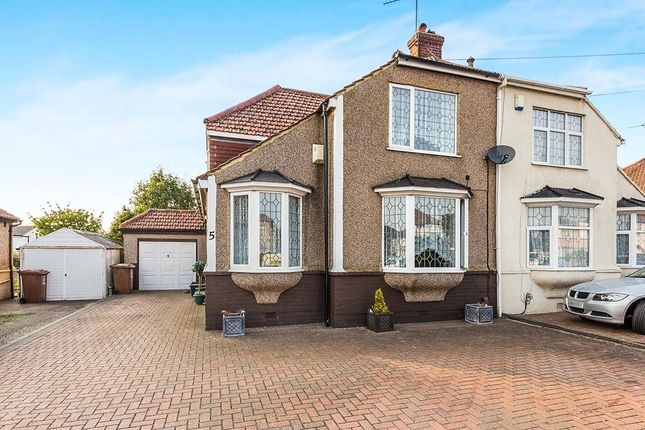 Thumbnail Semi-detached house for sale in Bedonwell Road, Bexleyheath