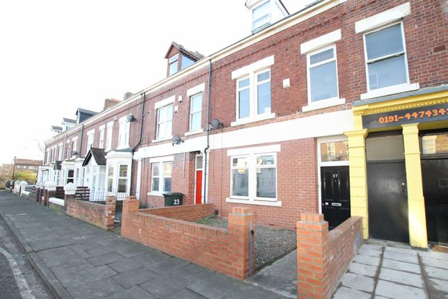 Thumbnail Terraced house for sale in Heaton Hall Road, Heaton, Newcastle Upon Tyne