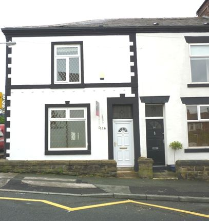 Thumbnail Terraced house to rent in Markland Hill, Bolton