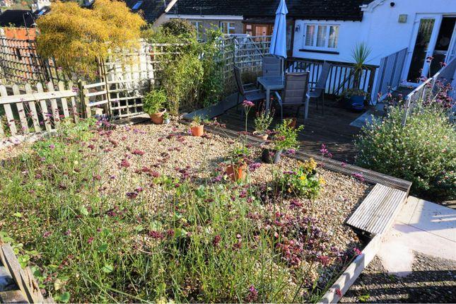 Garden of Marmora Terrace, Clapps Lane, Beer, Seaton EX12