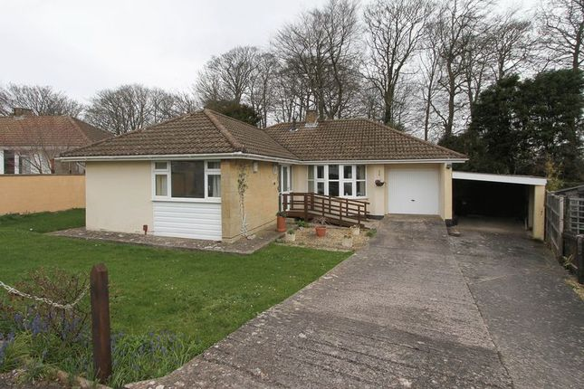 Thumbnail Detached bungalow to rent in Castlewood Close, Clevedon