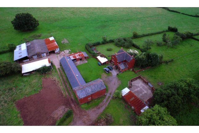 Thumbnail Farmhouse for sale in Coed Eva, Cwmbran