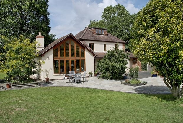 Thumbnail Detached house for sale in Shappen Hill Lane, Burley, Ringwood