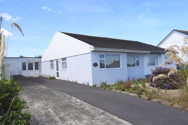Thumbnail Semi-detached bungalow for sale in Heol Y Graig, Aberporth, Ceredigion