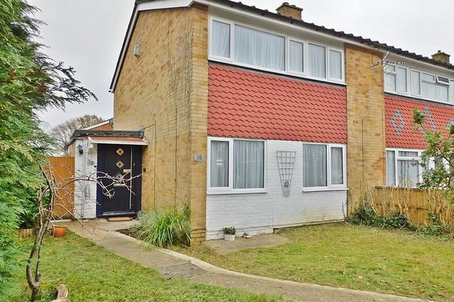 3 bed end terrace house for sale in Bishopsfield Road, Fareham PO14