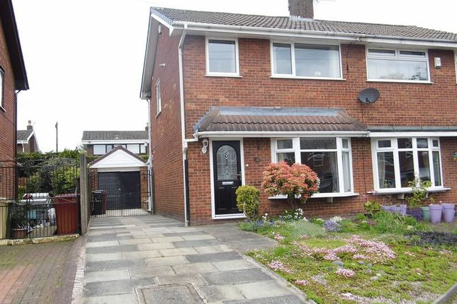 Thumbnail Semi-detached house for sale in Stanley Close, Westhoughton, Bolton