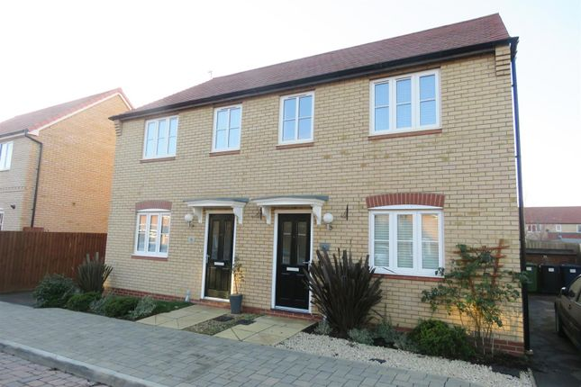 3 bed semi-detached house for sale in Rowell Way, Sawtry, Huntingdon