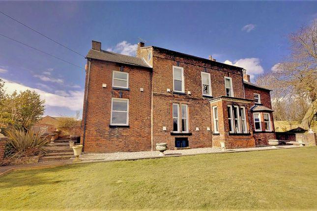 Thumbnail Detached house for sale in Chester Road, Sutton Weaver, Runcorn