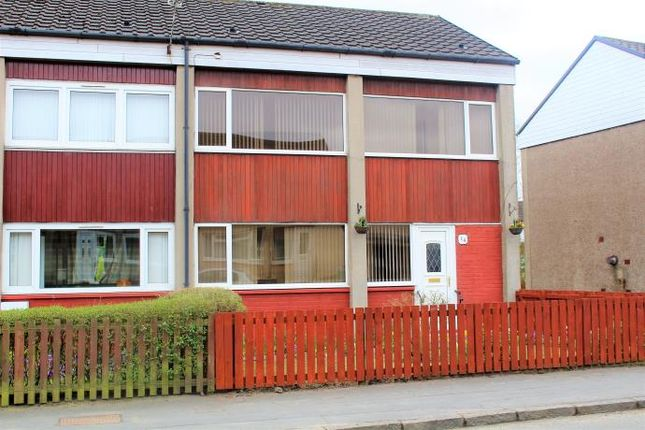 Thumbnail End terrace house to rent in North Kilmeny Crescent, Wishaw