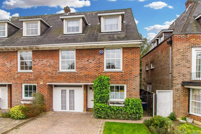 Thumbnail Semi-detached house for sale in Theydon Grove, Epping