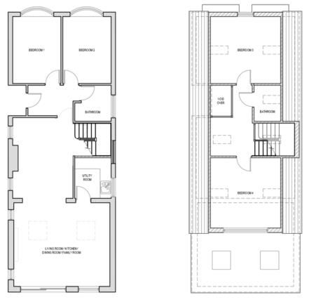 Floorplan of Rainham, Essex, Uk RM13