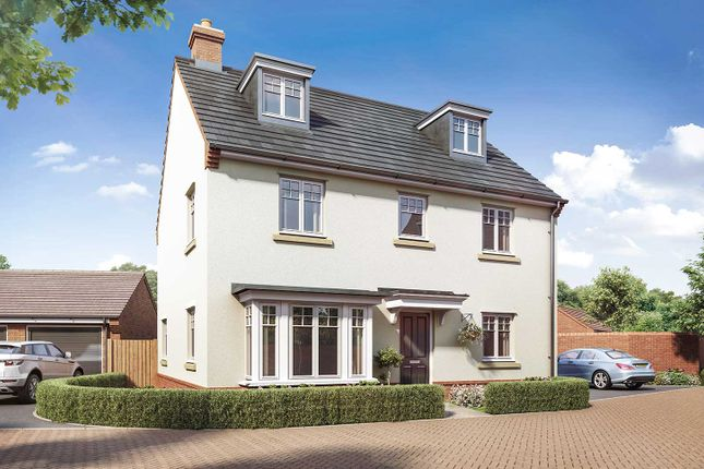 "Thumbnail Detached house for sale in ""The Fletcher"" at Boorley Green, Winchester Road, Botley, Southampton, Botley"