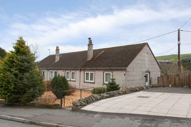 Thumbnail Semi-detached bungalow for sale in Fleming Place, Fountainhall, Galashiels, Borders